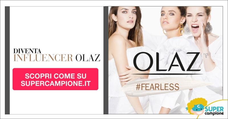 Diventa influencer Olaz Fearless