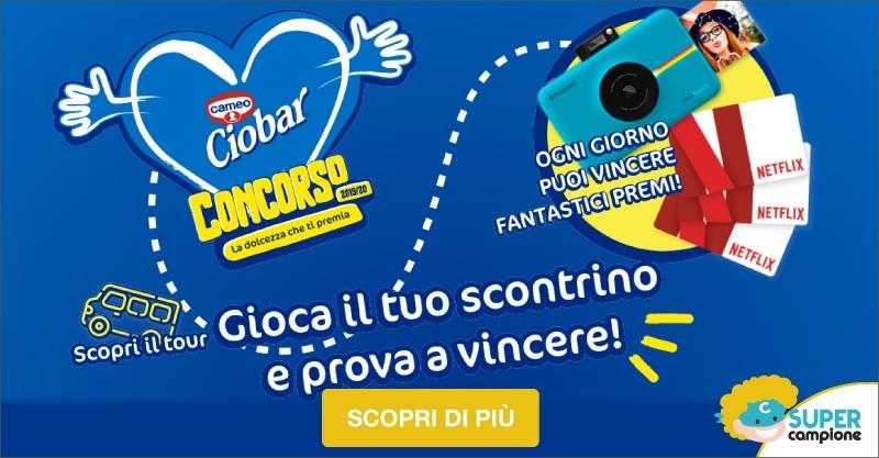 Vinci gift card Netflix e macchine fotografiche Polaroid