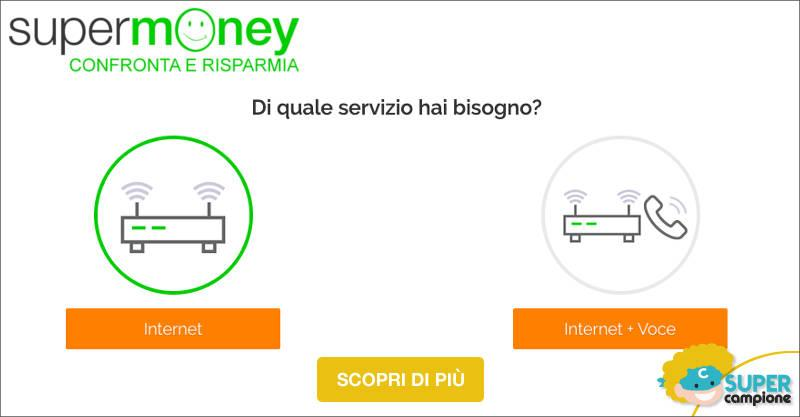 SuperMoney: risparmia su internet e telefono