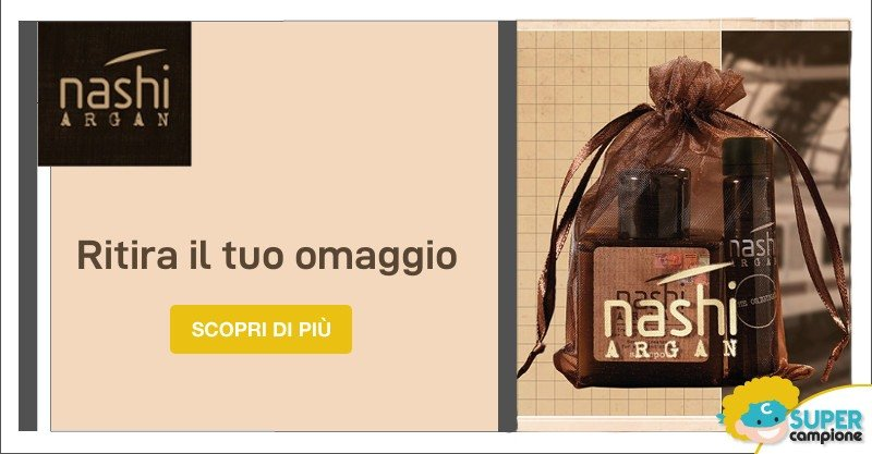 Campioni omaggio Nashi Argan