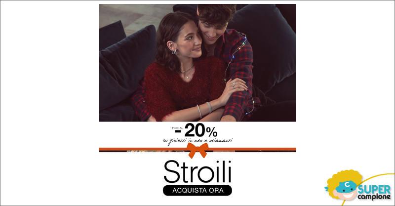Stroili Oro: -70% su gioielli in oro e diamanti