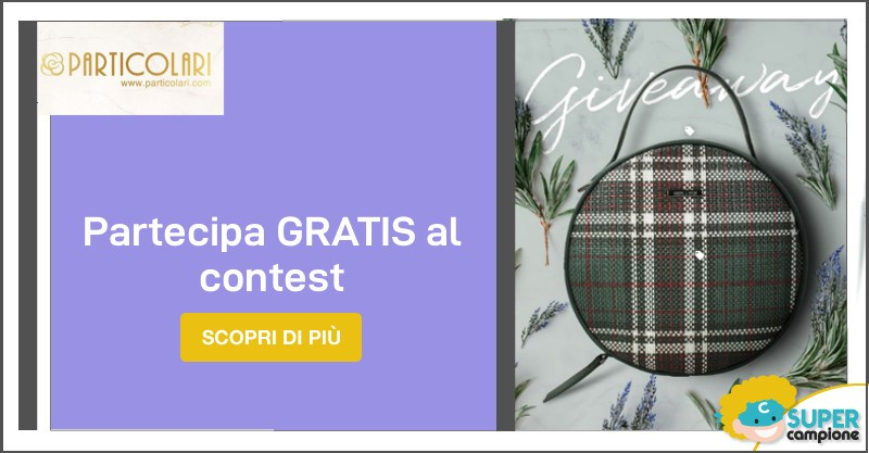 Vinci gratis la borsa Pilar