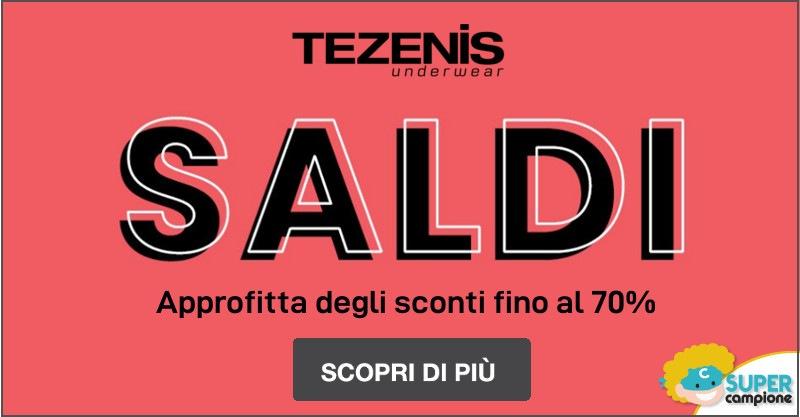Fine saldi Tezenis fino al 70%