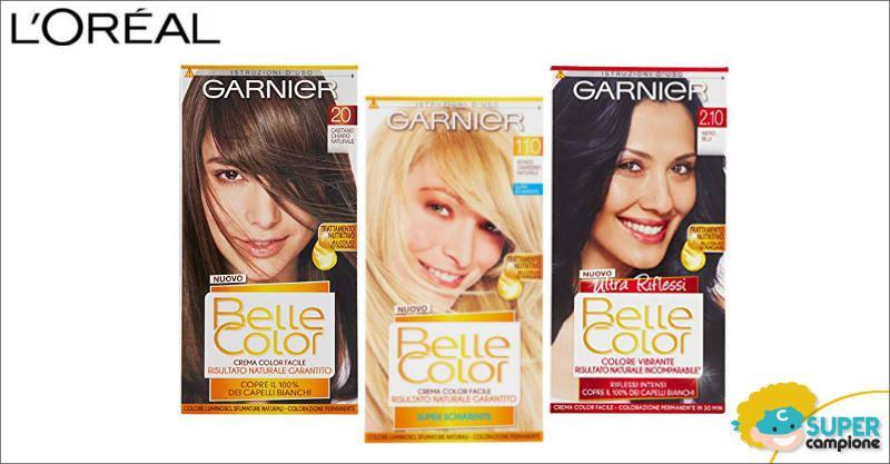 Diventa tester tinta capelli Garnier Belle