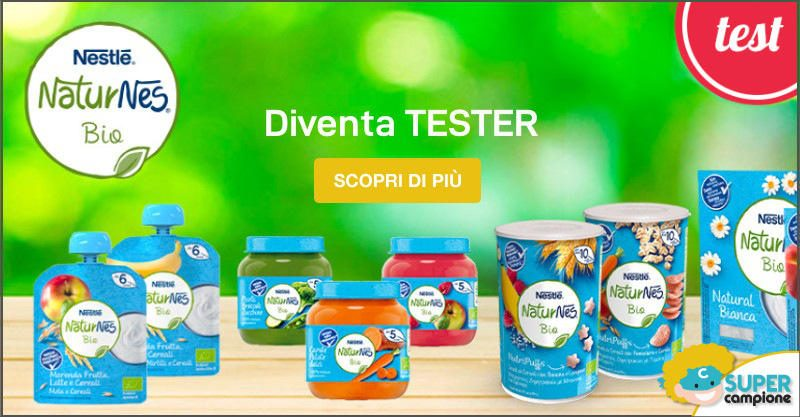 Diventa tester NaturNes Nestlé