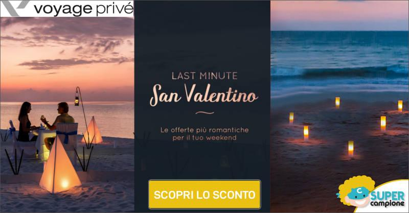 Voyage Privè: last minute weekend San Valentino -70%