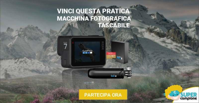 Vinci gratis una GoPro Hero 7