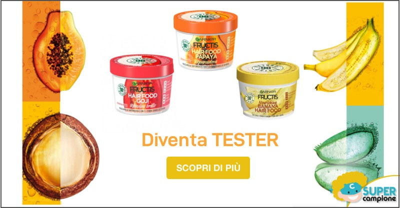 Diventa tester Garnier Fructis Hair Food