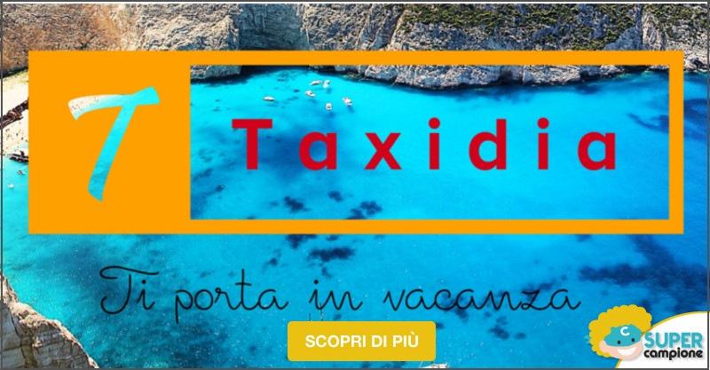 Taxadia: 1 settimana per 4 persone a 194€!