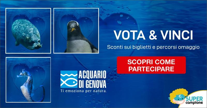Vinci sconti sui biglietti dell'Acquario di Genova