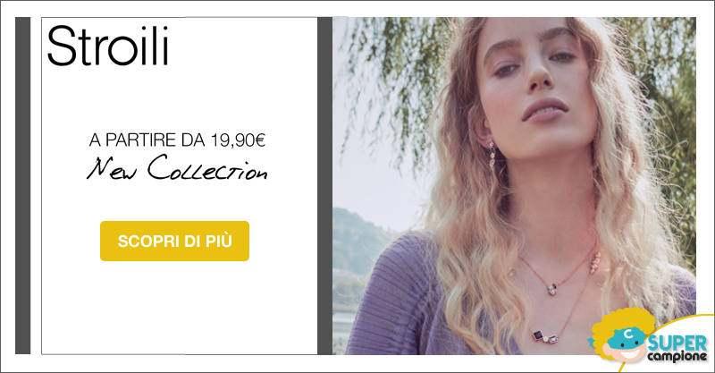 Stroili Oro: nuova collezione oro da 19,90€