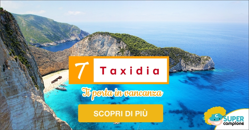 Taxidia: 1 settimana per 4 persone a 194€