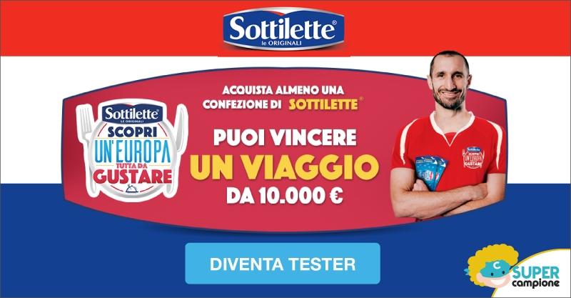 Vinci 1 viaggio da 10.000€ con Sottiletta