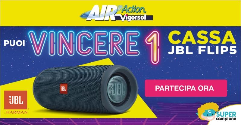 Vinci Cassa JBL FLIP5 con Air Action Vigorsol