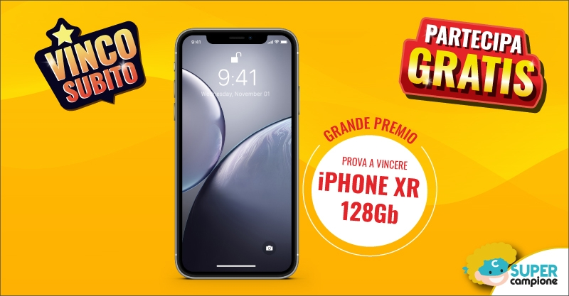 Vinci gratis un iPhone XR