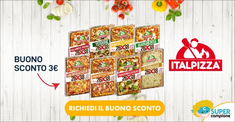 Buono sconto gratis 3€ Italpizza