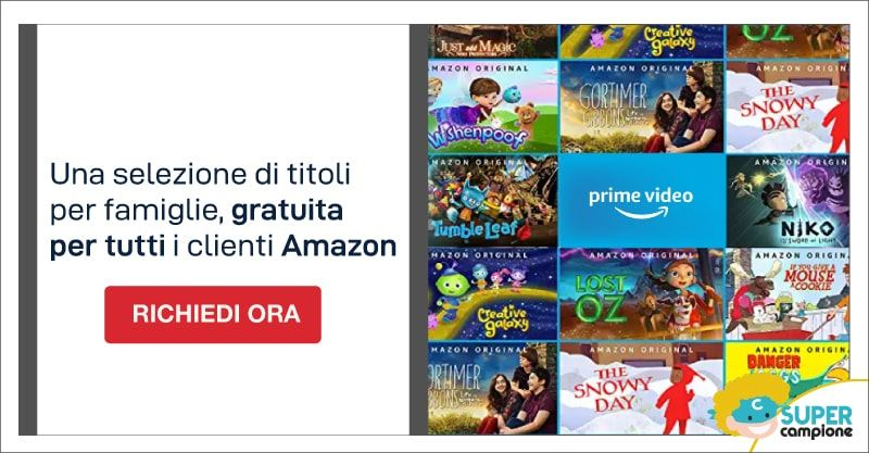 Amazon Prime Video + Prime Gratis per 30 giorni