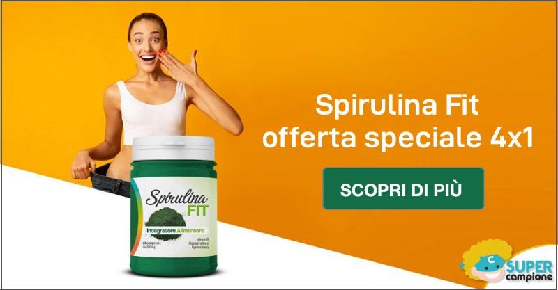 Offerta speciale Spirulina Fit 4x1