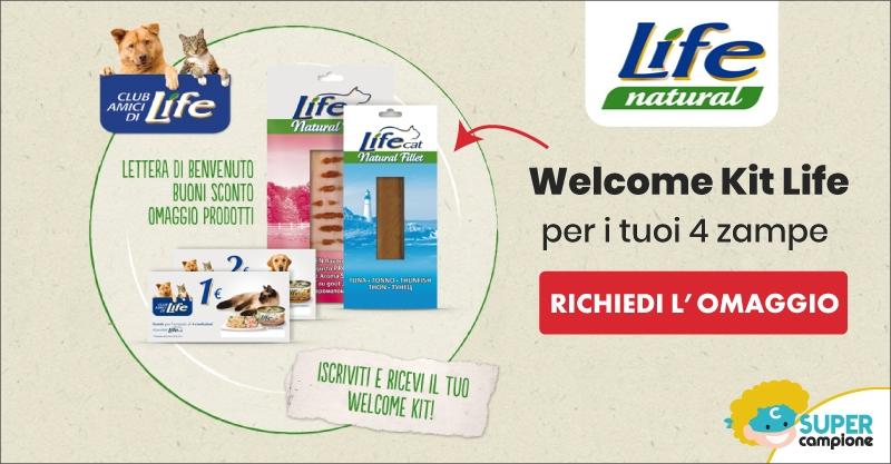 Omaggio per il tuo amico a 4 zampe: Welcome Kit Life