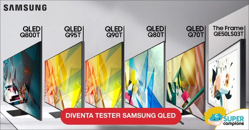 Diventa tester Samsung QLED