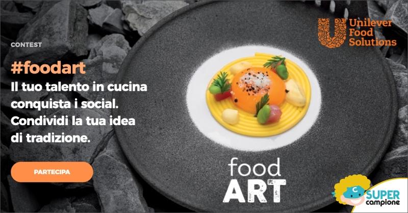Vinci coltelli Sanelli e tanti altri premi con #foodart