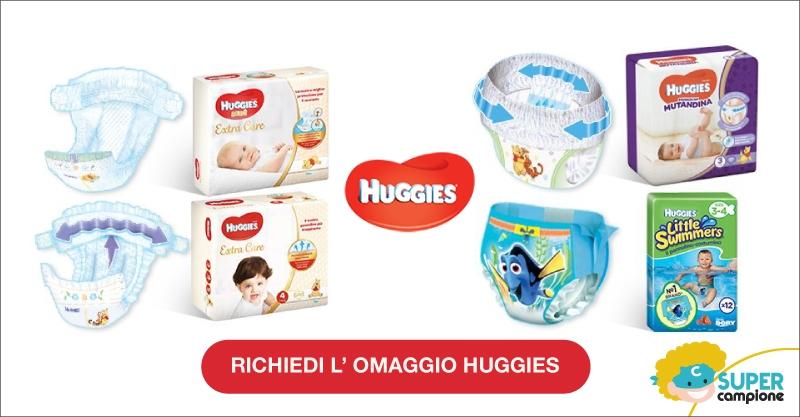 Campioni omaggio pannolini Huggies