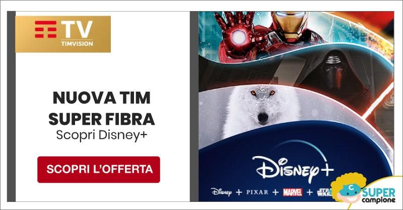 TIM Super Fibra + gratis Disney+
