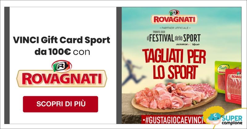 Vinci Gift Card Sport da 100€ con Rovagnati