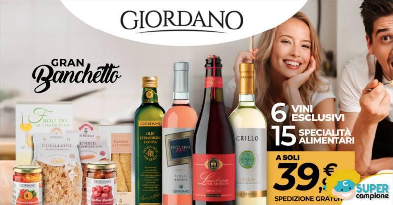 Giordano Vini: 6 vini + 15 specialità alimentari