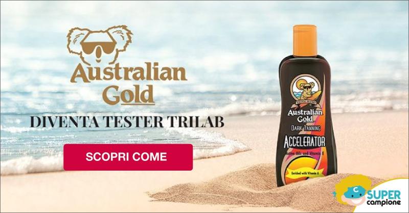 Diventa tester Trilab Australian Gold