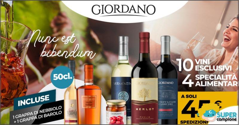Giordano Vini: 2 grappe gratuite
