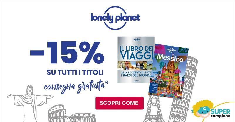 Lonely Planet: -15% su tutto + spedizione gratuita