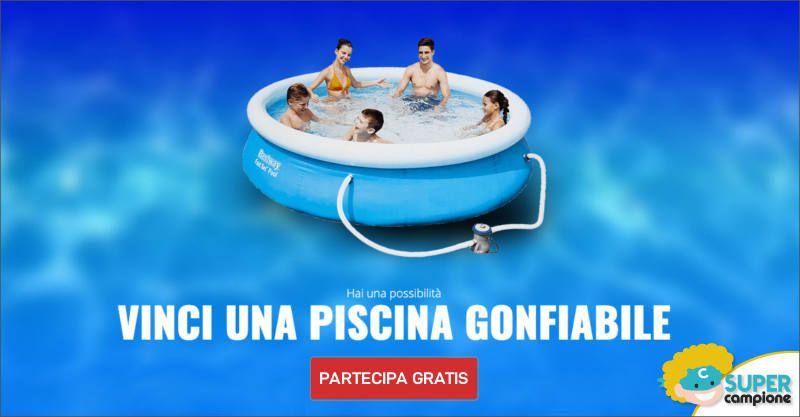 Vinci gratis una piscina gonfiabile