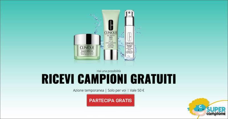 Vinci gratis un kit di cosmetici