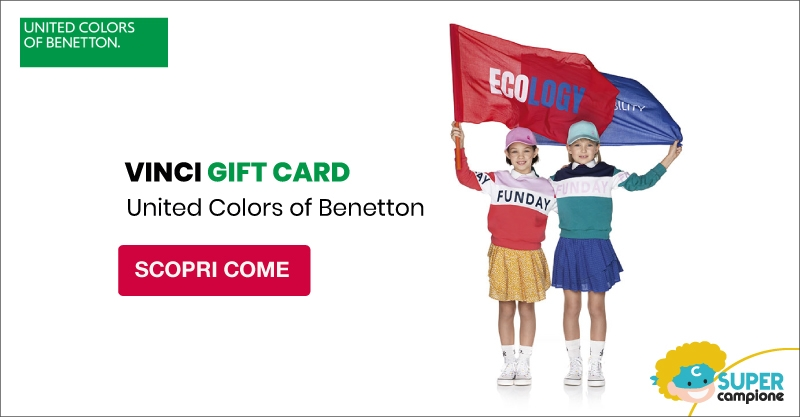 Vinci gift card United Colors of Benetton