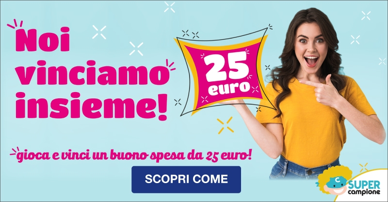Vinci buono spesa da 25€