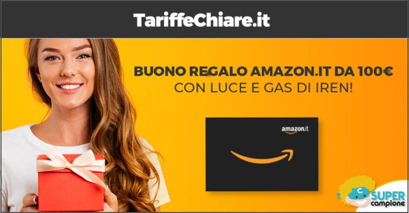 Ricevi un buono sconto Amazon da 100€