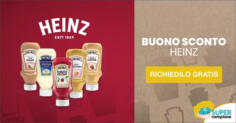 Richiedi gratis buono sconto Heinz