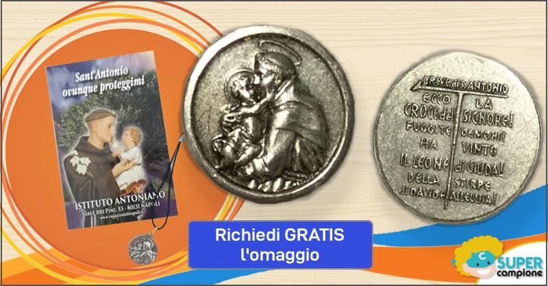 Omaggio medaglia S. Antonio