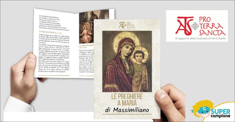 Omaggio Pro Terra Sancta libretto con le preghiere a Maria con il tuo nome