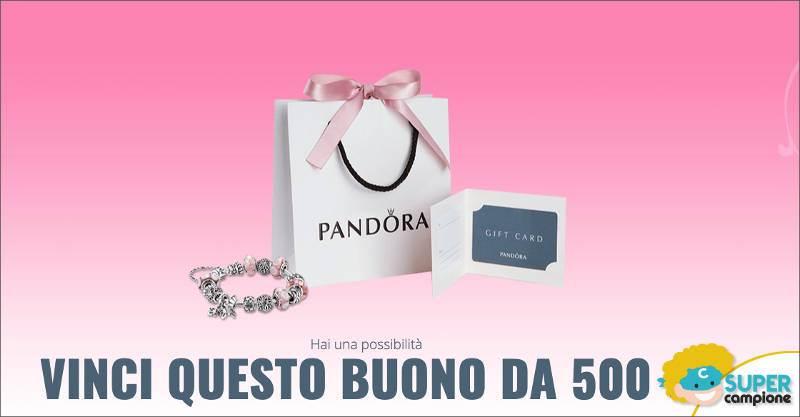 Vinci un buono Pandora da 500€