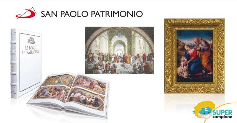 San Paolo Patrimonio: omaggio la stampa della Scuola di Atene