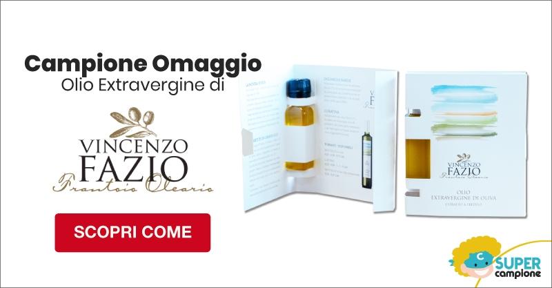 Campione omaggio gratis Olio Extravergine di Vincenzo Fazio