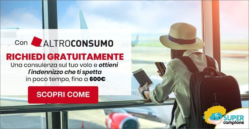 Omaggio Altroconsumo: consulenza volo cancellato