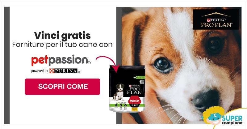 Vinci gratis forniture per il tuo cucciolo con Purina Pro Plan