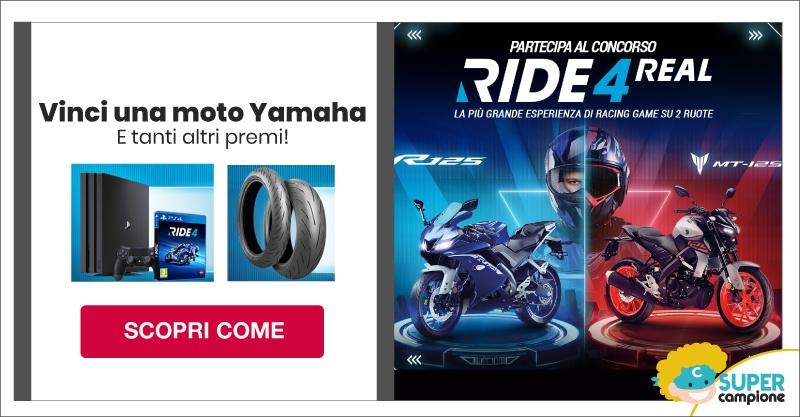 Vinci una moto Yamaha e tanti altri premi