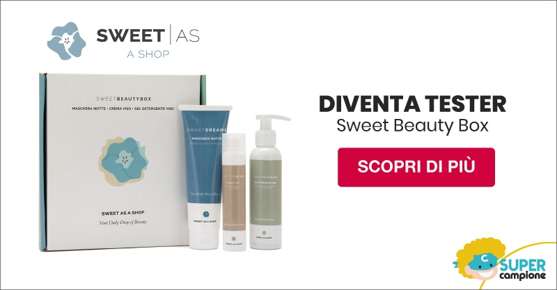 Diventa tester My Sweet Beauty Box