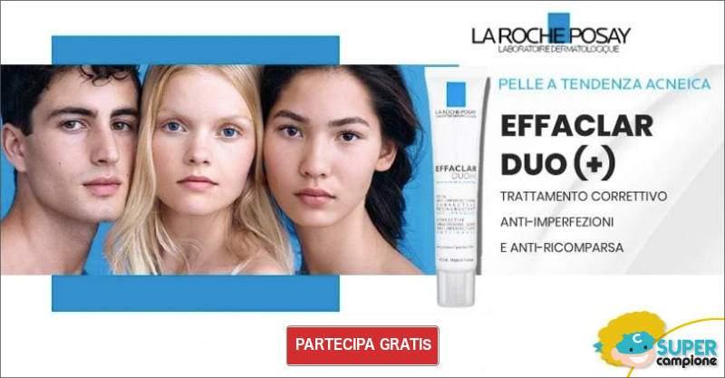 Diventa tester La Roche Posay Effaclar Duo +