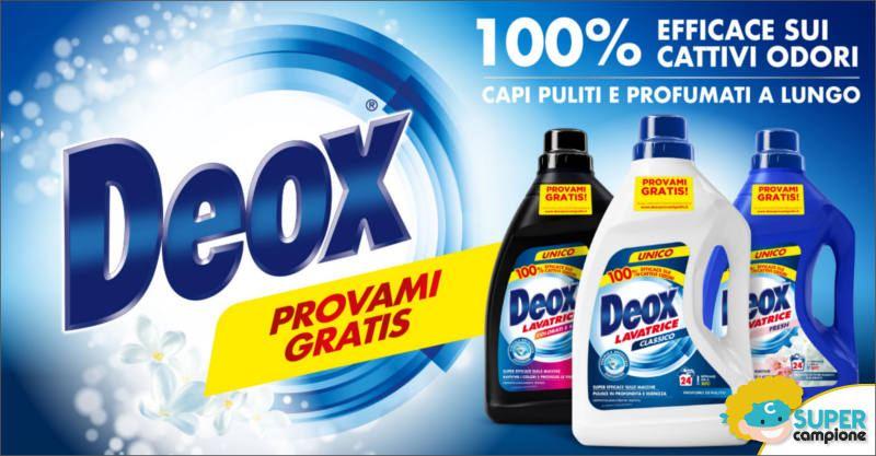 Deox Provami Gratis: ricevi il rimborso