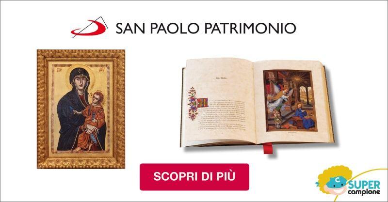 San Paolo Patrimonio: omaggio il libro delle Preghiere